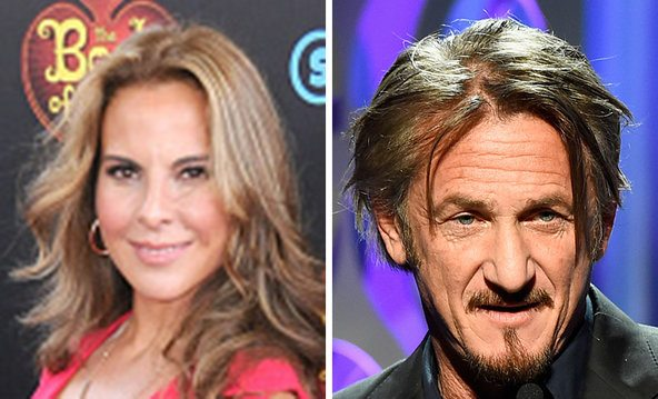 Kate del Castillo and Sean Penn conducted the interview. Credit Left, Barry King/FilmMagic; Frazer Harrison/Getty Images