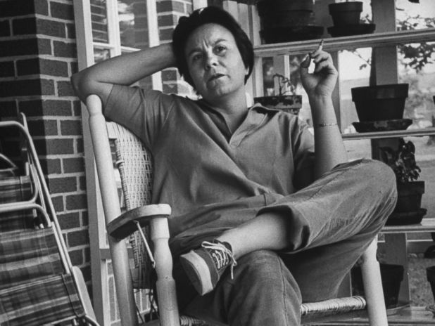 "Donald Uhrbrock/The LIFE Images Collection/Getty Images Author of ""To Kill a Mockingbird,"" Harper Lee, is pictured while visiting her home town in 1961."
