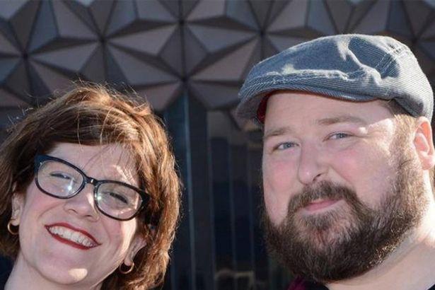 Not so angry: Jordan Alexander and husband Steven