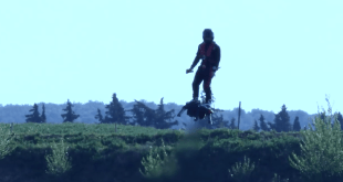 VIDEO Zapata Racing Founder Franky Zapata Testing New Hoverboard 'Flyboard Air'