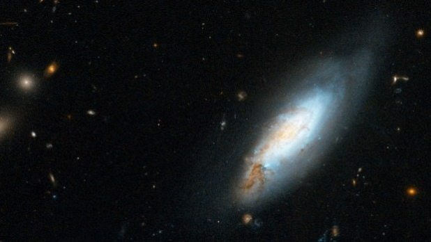 The Coma Cluster contains thousands of galaxies.
