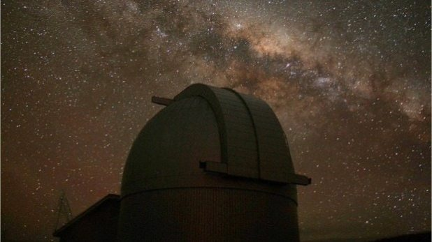 The Milky Way above the Mt John observatory in the South Island.