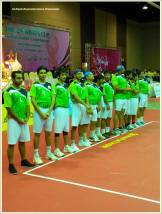Pakistan's National Sepak Takraw Team