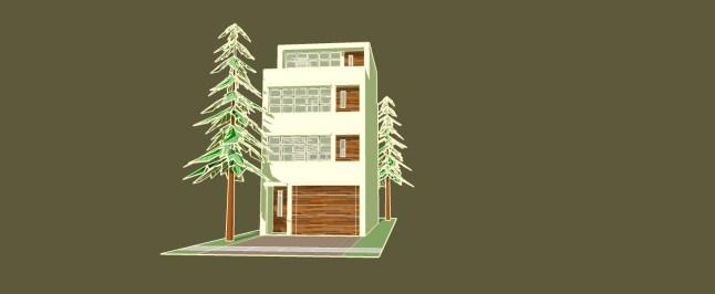 _townhouse model GREEN
