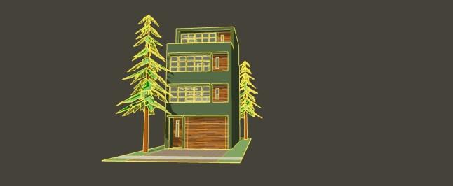 _townhouse model OREGON