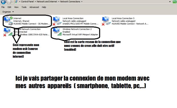 1 Comment partager l'internet du PC avec son smartphone sur Windows sans logiciel