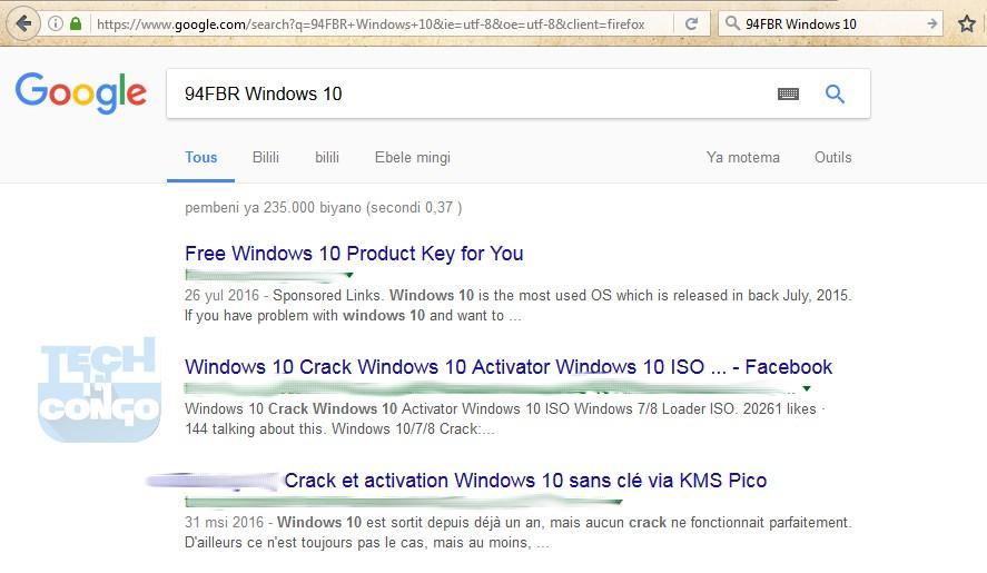 94FBR Windows 10 Comment trouver la clé d'activation d'un logiciel payant gratuitement