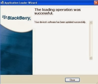 Fin Installation Blackberry OS