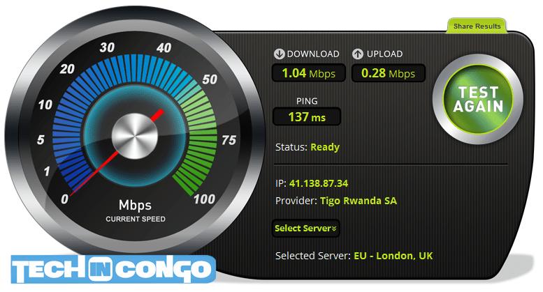 Tigo vitesse reseau TEST: Quel est le réseau mobile le plus rapide en RDC ?