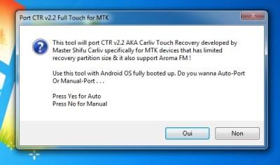 CTR v2.2 MTK CWM