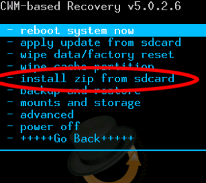 flashrom installzip Rooter Android en flashant SuperSu.zip via Recovery