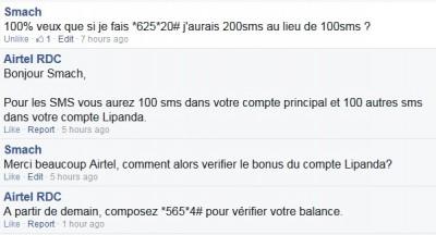 Conversation Airtel Smach 400x216 AIRTEL LIPANDA : 100% de bonus sur les activations INTERNET et SMS