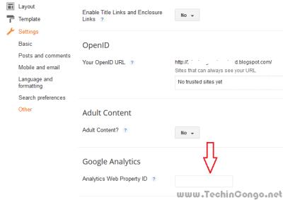 Analytics dans Blogspot 400x283 Google Analytics : Qui visite votre site ? Que visite-t-il ? : Analyse d'audience