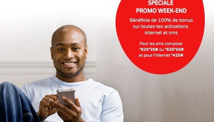 Airtel Promo Weekend : 100% de bonus sur les activations INTERNET et SMS