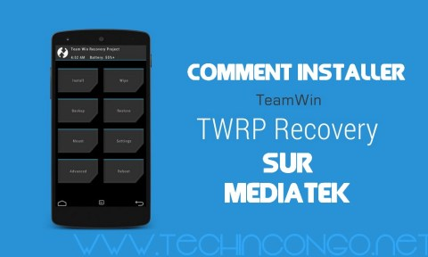 TWRP Recovery Installation 400x240 Comment Installer TWRP recovery sur un Smartphone Android Mediatek
