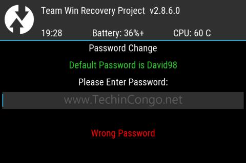 TWRP mot de passe 400x266 Comment protéger TWRP Recovery avec un mot de passe