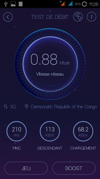 Du Speed Test Debit