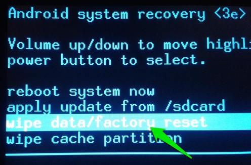 Android System Recovery Supprimer un schéma, mot de passe oublié sur android – le moyen le plus facile
