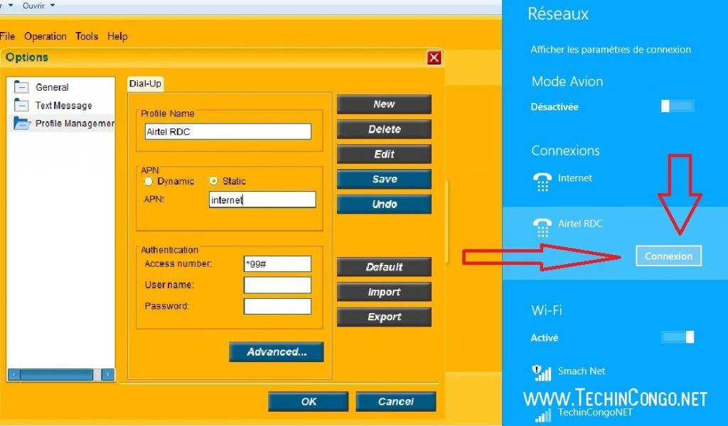 Connexion Airtel RDC 1024x600 Comment Débloquer les modems ZTE avec DC Unlocker