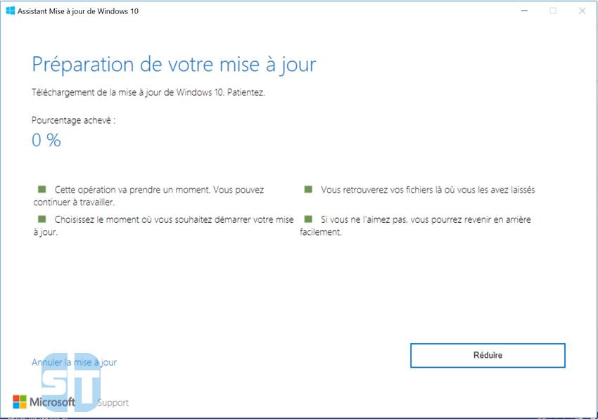 Installation en cours de Windows 10 Télécharger Windows 10 (64 & 32bits) ISO gratuitement – la dernière version