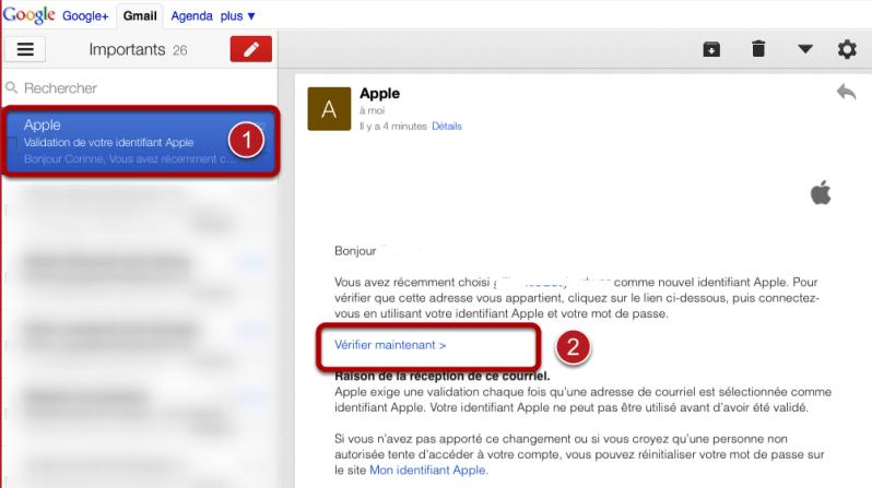 Verification ID Apple