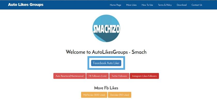 Auto Like Facebook Comment avoir beaucoup de j'aime sur Facebook (photo et status)