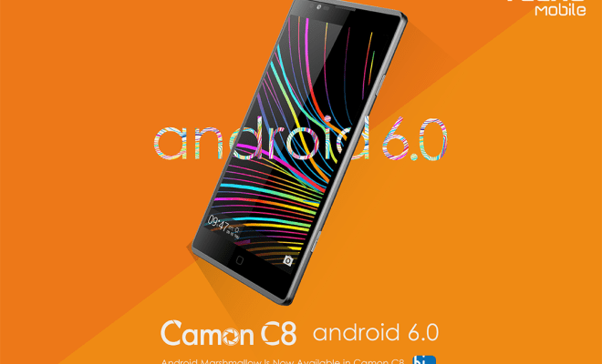 Android 6.0 Marshmallow Tecno Camon C8