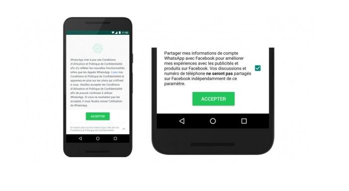 Desactiver partager infos WhatsApp Facebook Comment empêcher WhatsApp de partager vos données avec Facebook