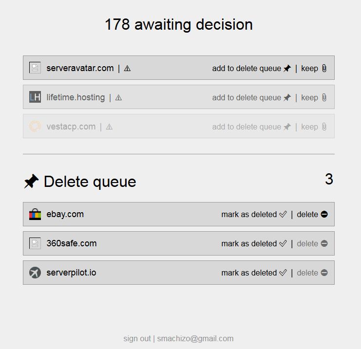 Supprimer comptes dinternet Vous pouvez vous supprimer d'internet en appuyant sur ce bouton