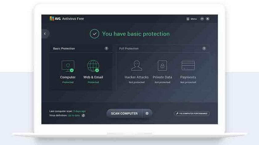 AVG Antivirus Les 5 Meilleurs Antivirus Gratuits pour Windows et Mac - Comparatif 2019