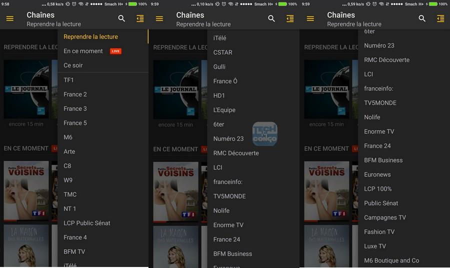 Chaines Molotov.TV  Télécharger Molotov.tv – l'App pour regarder la télé gratuitement