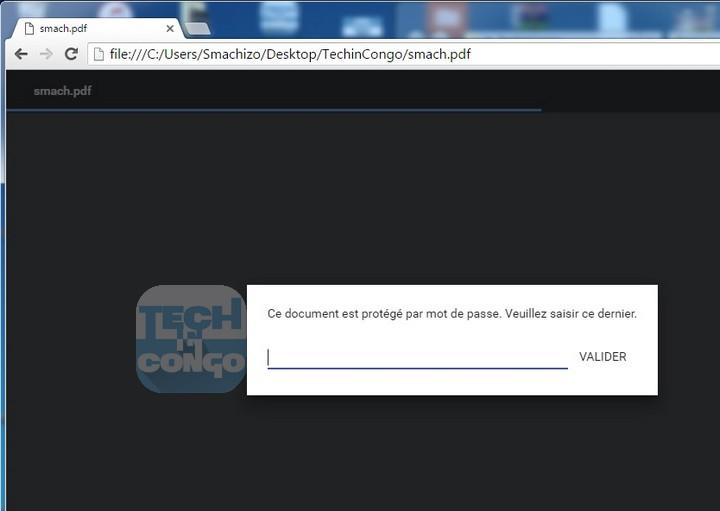 Chrome demande mot de passe Comment Supprimer Le Mot de Passe d'un PDF avec Google Chrome / Sans Logiciel