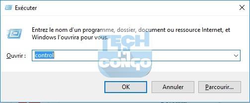 Control Liste des commandes « exécuter » (Run) utiles pour Windows 10 / 8 /7