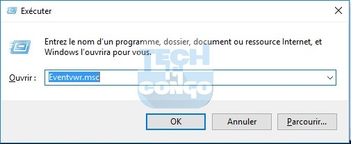 Eventvwr.msc  Liste des commandes « exécuter » (Run) utiles pour Windows 10 / 8 /7
