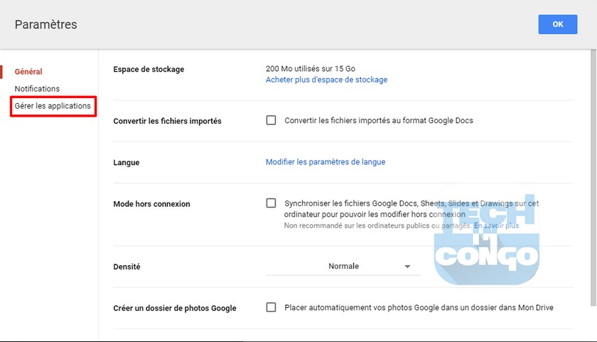Gestion Applications Drive Comment installer et utiliser des applications dans Google Drive