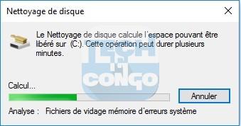 Nettoyage de disque Liste des commandes « exécuter » (Run) utiles pour Windows 10 / 8 /7