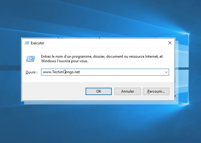 Windows Run Executer Liste des commandes Windows Run (Executer) utiles sur Windows