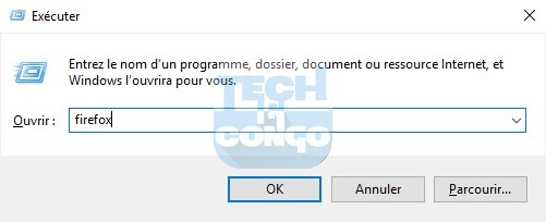 firefox Liste des commandes Windows Run (Executer) utiles sur Windows