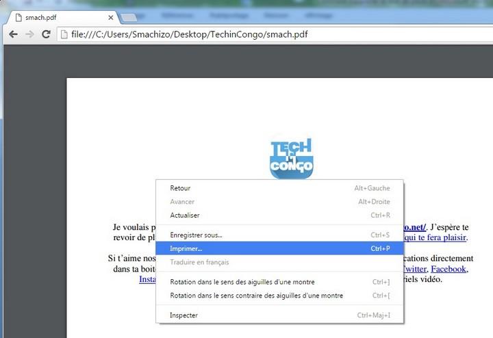 imprimer PDF avec Chrome Comment Supprimer Le Mot de Passe d'un PDF avec Google Chrome / Sans Logiciel