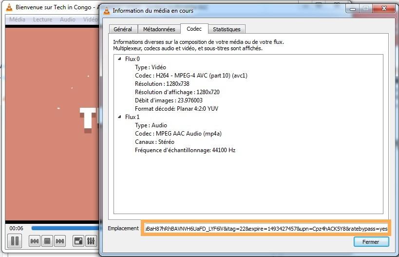 informations sur le codec 7 Astuces du Lecteur Multimédia VLC que vous ignorez peut-être