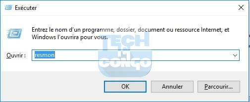 resmon Liste des commandes Windows Run (Executer) utiles sur Windows