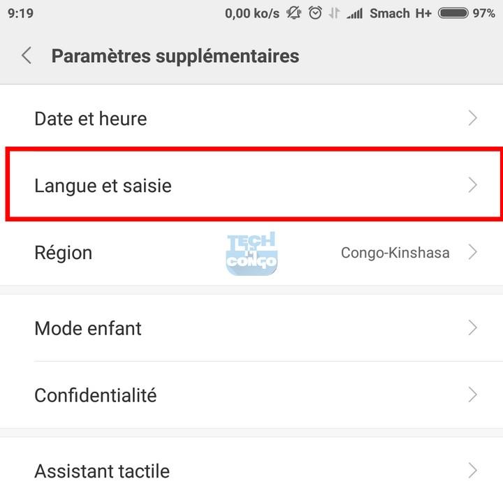 Langue et saisie Android Changer la Couleur du clavier Android par une autre couleur ou une image