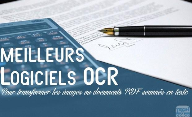 logiciels OCR gratuit Top 5 logiciels OCR gratuits pour convertir un document PDF en Word ou texte