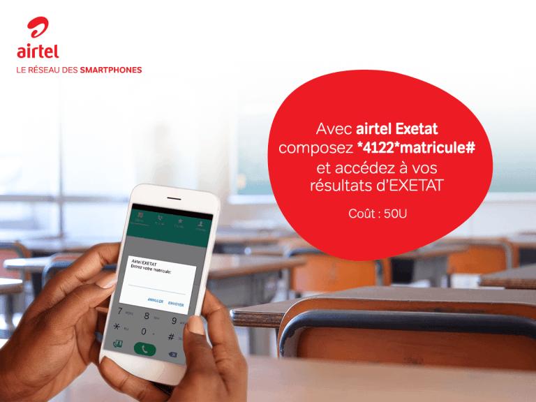 Airtel exetat EXETAT 2018 RDC : Comment vérifier les résultats d'examen d'état 2018