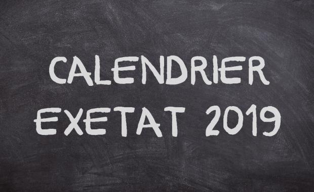 CALENDRIER EXETAT 2019 RÉSULTAT EXETAT 2019 – Voici Comment Vérifier + Journal Exetat 2019
