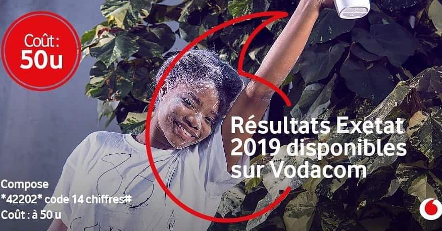 Résultat D'Exetat RDC 2019