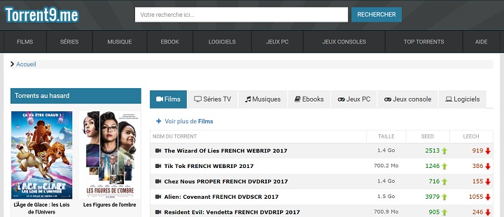 meilleur site de torrent