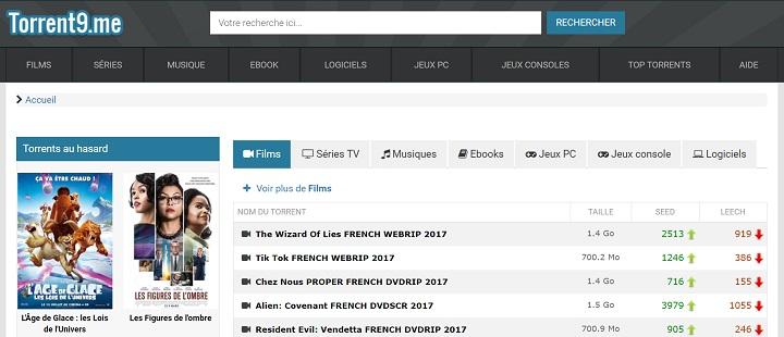 meilleur site français
