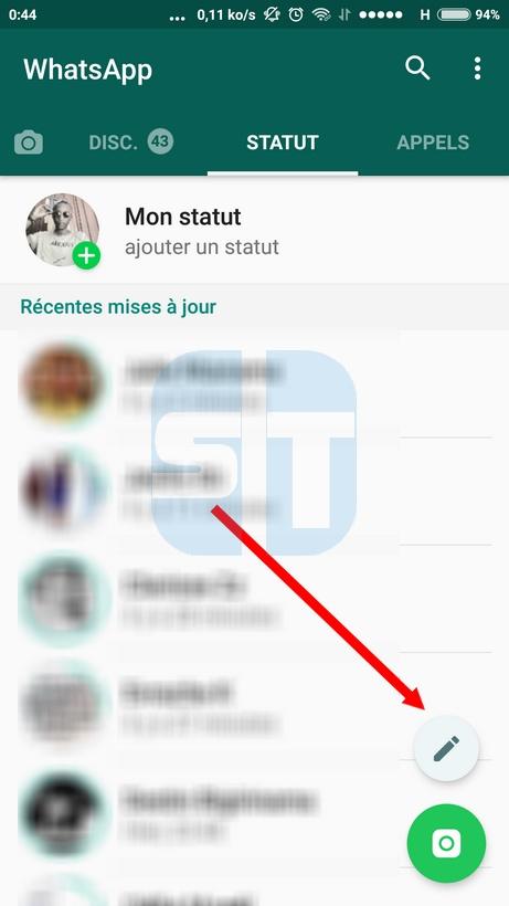 ajouter statut texte whatsapp WhatsApp: les statuts texte en couleur sont disponibles, voici comment les activer