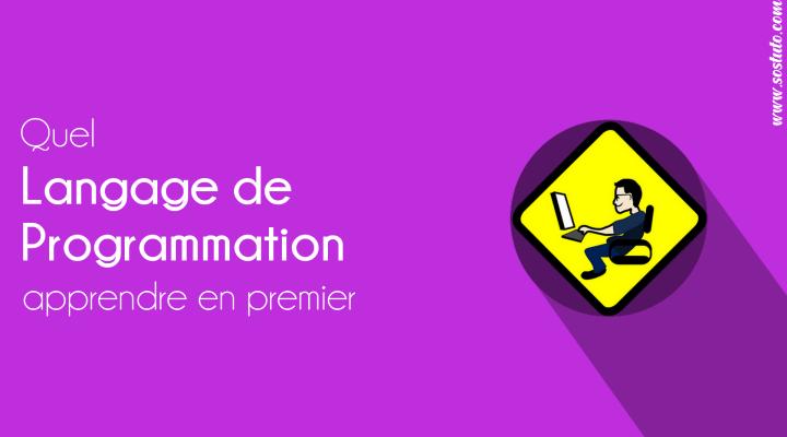 featured Quel langage de Programmation apprendre en premier - Voici comment choisir